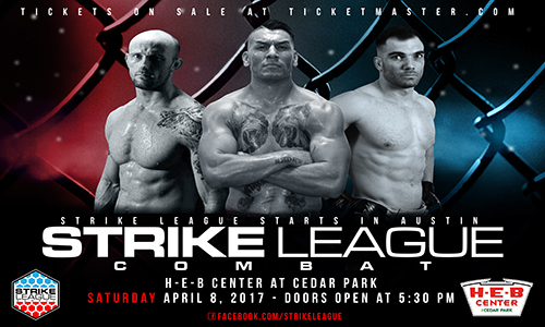 Strike League at HEB Center at Cedar Park – Ticket Giveaway!