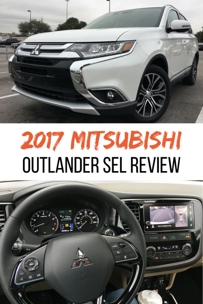 A few weeks ago we were able to use a 2017 Mitsubishi Outlander SEL for a roadtrip the RGV. It has room for seven passengers and has a third row! Check out my 2017 Mitsubishi Outlander SEL Review.