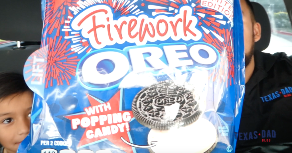 firework oreo review